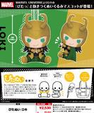 【B】可动玩偶挂件 漫威宇宙系列 洛基 035786