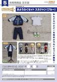【A】粘土人Doll 洋服套装 棒球服 蓝色(日版)126237