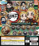 【B】300日元扭蛋 鬼灭之刃 Q版徽章 创口贴Ver. 第5弹 全11种 (1袋40个) 713485
