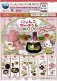 200日元扭蛋 场景摆件 猫咪厨房 第6弹 和风甜点 全6种 (1袋50个)  621634