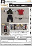 【A】粘土人Doll 洋服套装 棒球服 黑色(日版) 126220
