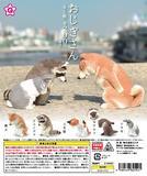 200日元扭蛋 手办 鞠躬的小动物 全5种 (1袋50个) 821921