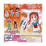 【A】300日元扭蛋 玩偶游戏 挂件 中学生篇 全5种(1袋40个)942296