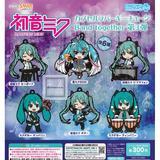 【A】300日元扭蛋 粘土人Plus 初音未来系列 Band together 第2弹 全6种 (1袋40个) 114913