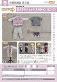 【A】粘土人Doll 洋服套装 棒球服 粉色(日版) 126244