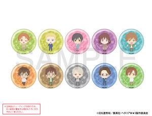 【B】盲盒 黑塔利亚 World☆Stars Q版徽章 第1弹 全10种 (1盒5个) 666642