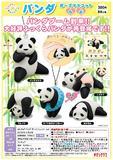 300日元扭蛋 小摆件 软萌熊猫的可爱姿势 全5种 300472