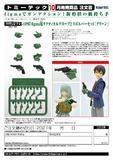 【A】拼装模型 LittleArmory-OP07 figma专用战术手套 第2弹 左轮手枪套装 绿色(日版) 318712