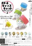 300日元扭蛋 瓶盖收纳手办 被瓶盖盖住的猫 第2弹 全8种 (1袋40个) 371633