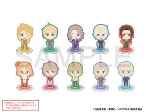 【B】盲盒 黑塔利亚 World☆Stars Q版亚克力立牌 第2弹 全10种 (1盒5个) 666673