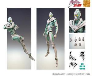 特价!【A】可动手办 超像可动系列 JOJO的奇妙冒险 第3部 绿之法皇 新包装Ver. 979831