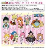 【B】盒蛋 海贼王 橡胶挂件 蛋糕岛篇 全10种 079031