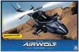 【A】拼装模型 飞狼 AIR WOLF 附透明机身 063521