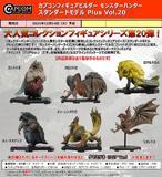 【A】盲盒 手办 怪物猎人系列 标准怪Plus 第20弹 全6种 (1盒6个) 120111