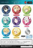 【B】盲盒 刀剑神域 水彩系列 徽章 全8种 (1盒8个)  964059