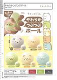 300日元扭蛋 墙角生物系列 捏捏颗粒球 全5种 (1袋40个) 012470
