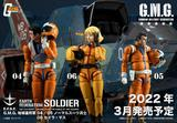 【A】可动手办 G.M.G.系列 高达 地球联邦军