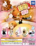 【A】200日元扭蛋 吃货小动物 小手办 全5种(1袋50个)835810
