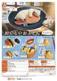 300日元扭蛋 小手办 小动物与好吃的被窝 再来一份! 全6种 (1袋40个) 711054