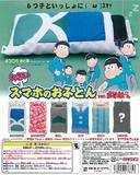 【A】400日元扭蛋 手机大睡袋 阿松Ver. 全6种 含隐藏1种(1袋3个)176618