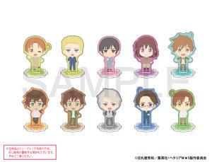【B】盲盒 黑塔利亚 World☆Stars Q版亚克力立牌 第1弹 全10种 (1盒5个) 666666