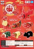 【B】300日元扭蛋 小手办 神兽Beko 全7种 (1袋40个)373378