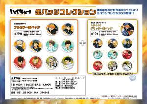 【B】盲盒 排球少年 TO THE TOP 徽章 全20种 (1盒11个) 374343