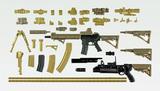 【B】1/12拼装模型 LittleArmory M4A1步枪 朝户未世 任务包 318996