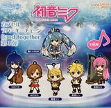 【A】300日元扭蛋 粘土人Plus 初音未来系列 Band together 第1弹 全6种 (1袋40个) 114883
